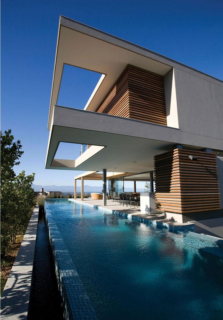 Foto della piscina dal design moderno n.22