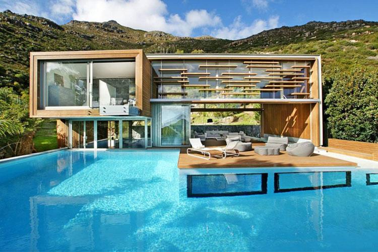 Foto della piscina dal design moderno n.23