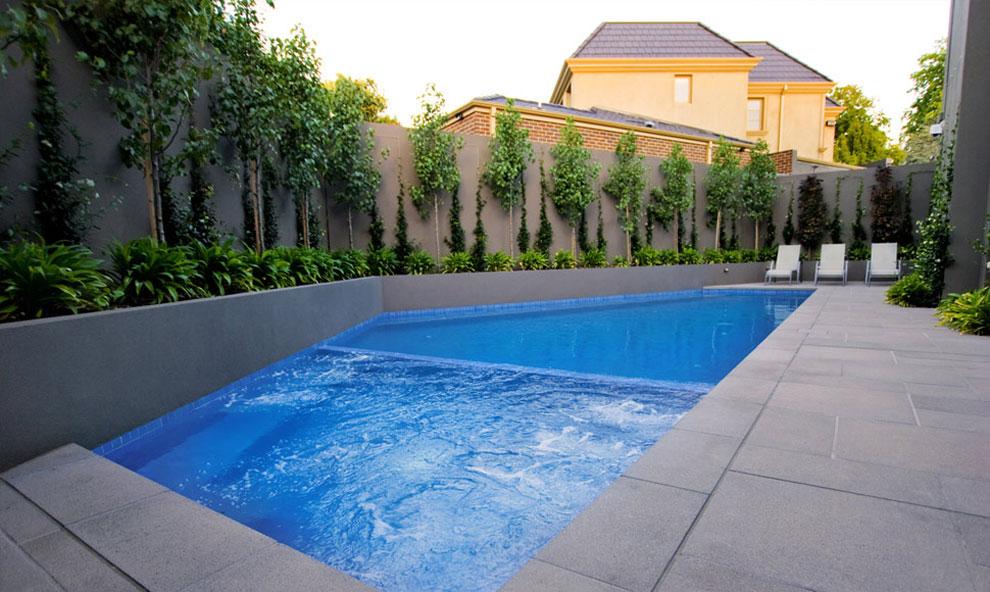 Foto della piscina dal design moderno n.29