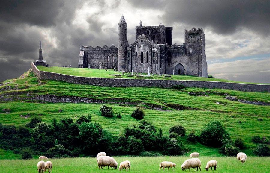Immagine della Rocca Cashel in Irlanda