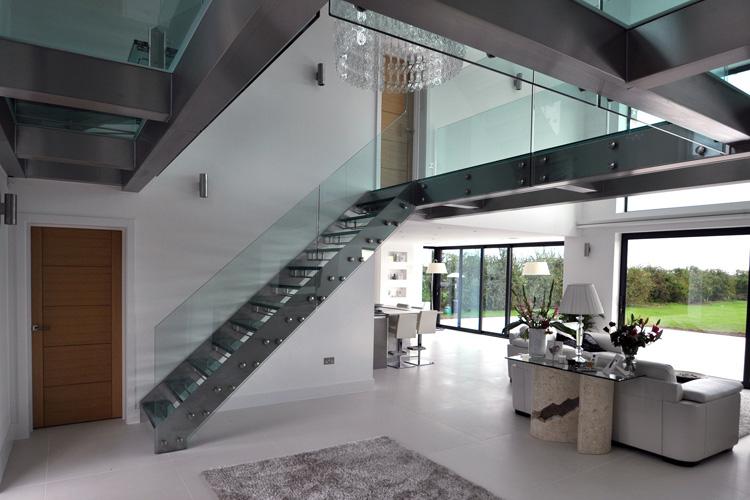 40 foto di scale interne dal design moderno - Scale interne design ...