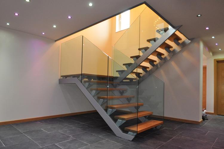 120 foto di scale interne dal design moderno for Interni e design