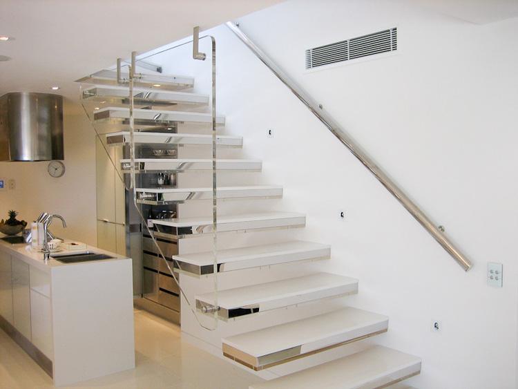 40 foto di scale interne dal design moderno - Scale in muratura per interni ...