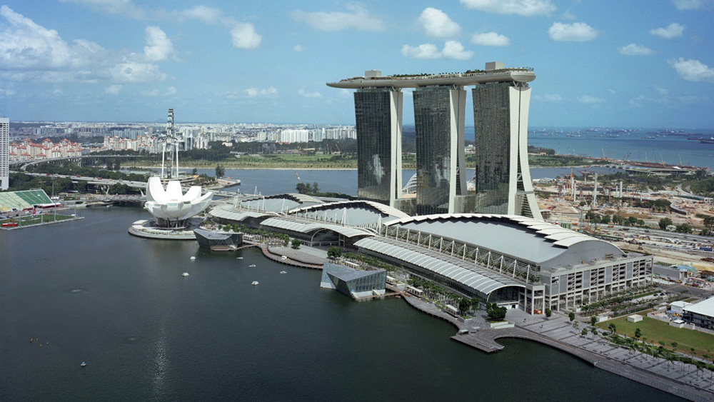 Foto dell'hotel Marina Bay Sands a Singapore