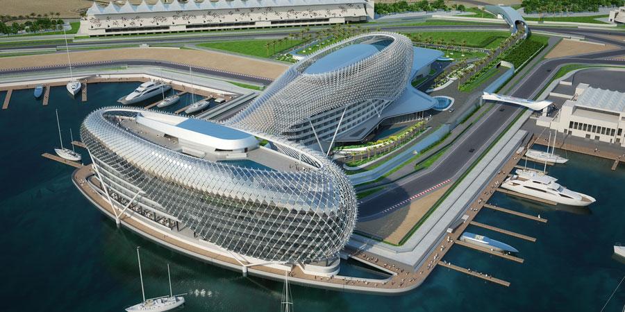 Foto dell'hotel The Yas negli Emirati Arabi