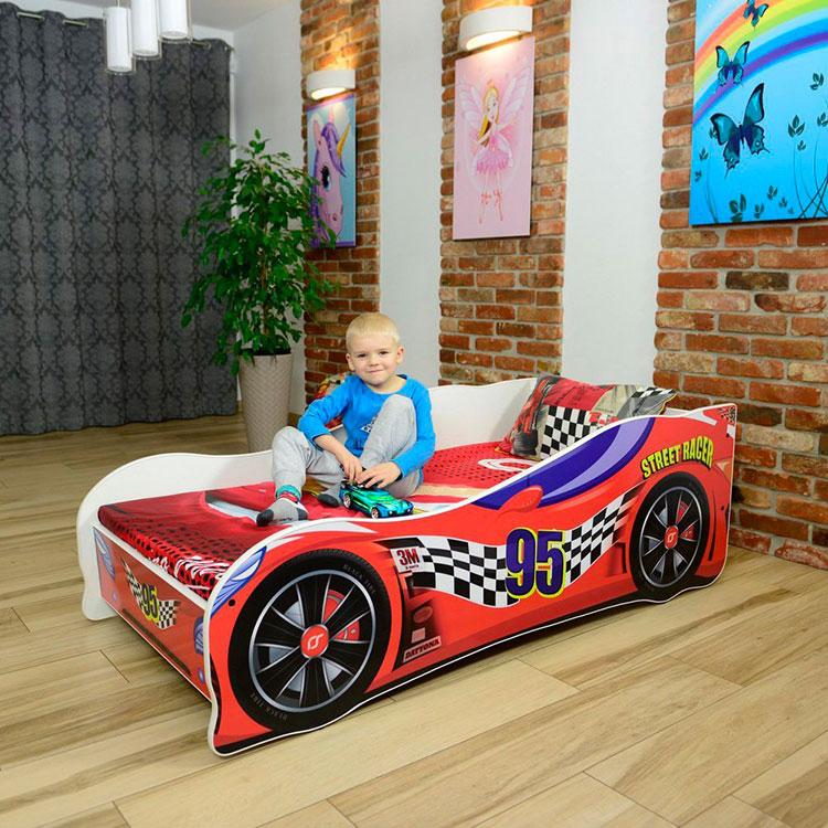 Letto per bambini a forma di automobili n.57