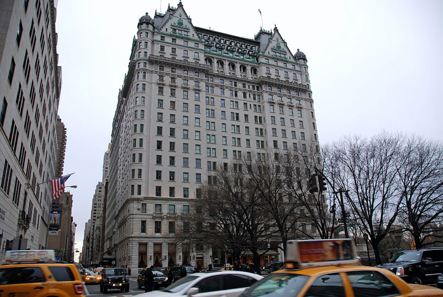 Foto del Plaza Hotel a New York