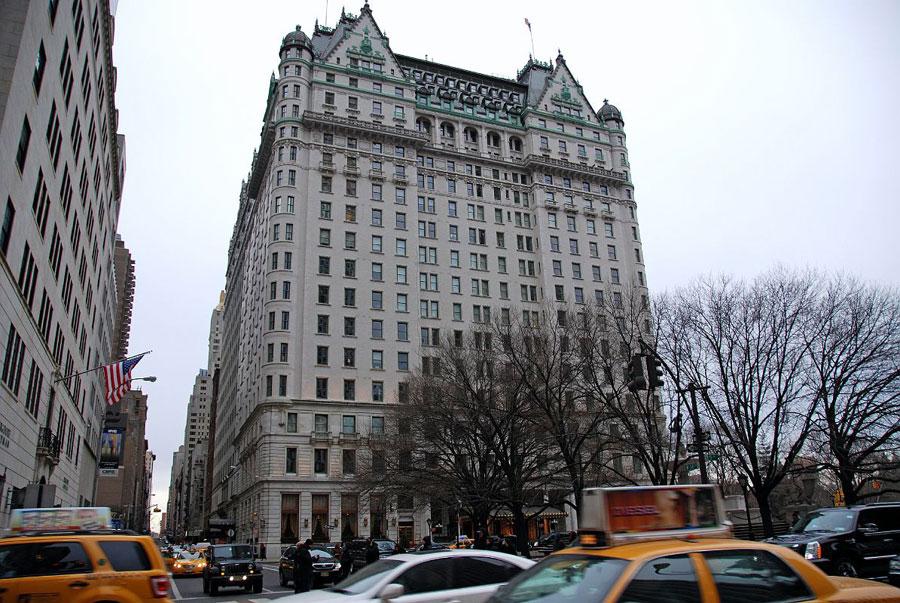 Foto del Plaza Hotel a New York