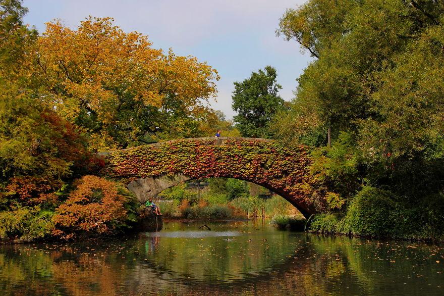 Foto del ponte di Gapstow negli USA