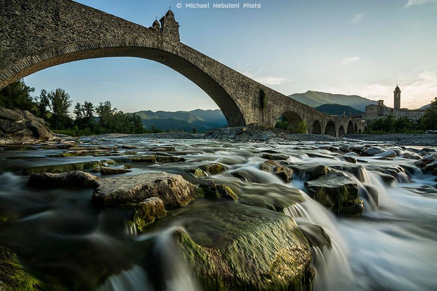 Foto del ponte Gobbo in Italia