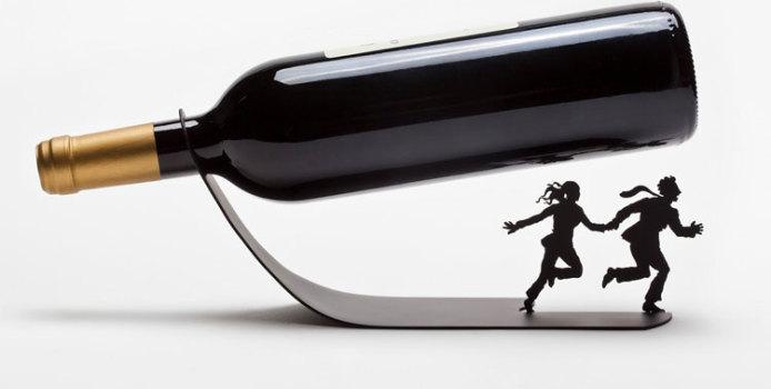 40 Portabottiglie di Vino da Tavolo dal Design Moderno