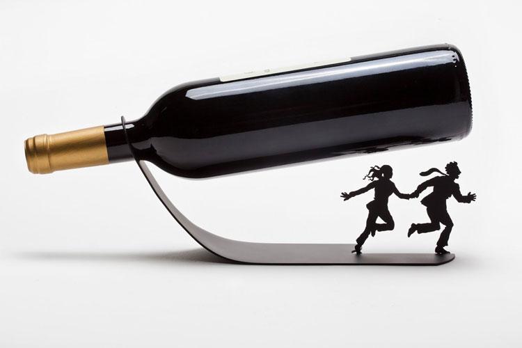 30 Portabottiglie di Vino da Tavolo dal Design Moderno
