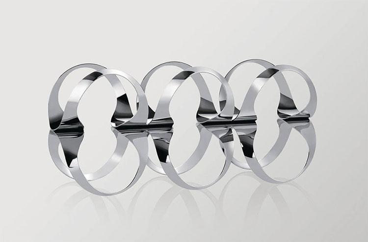 Modello di portabottiglie di vino di design 13