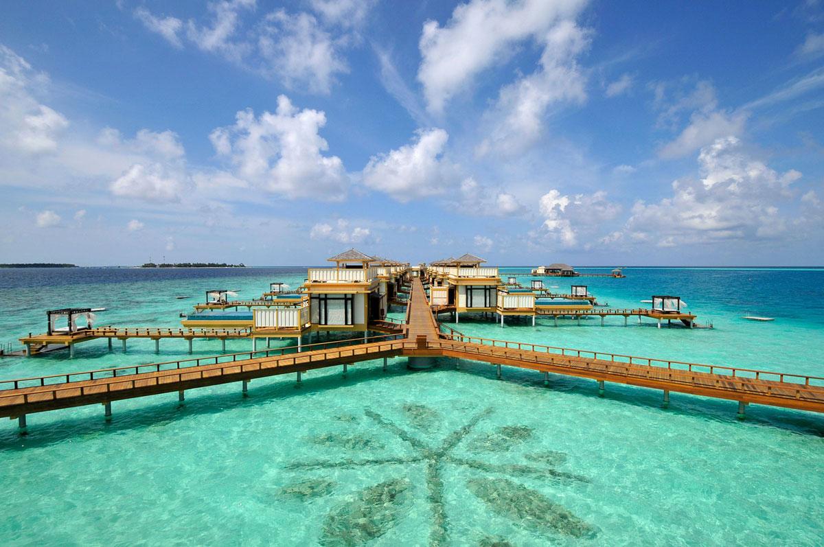 Foto del resort sul mare Angsana Velavaru alle Maldive