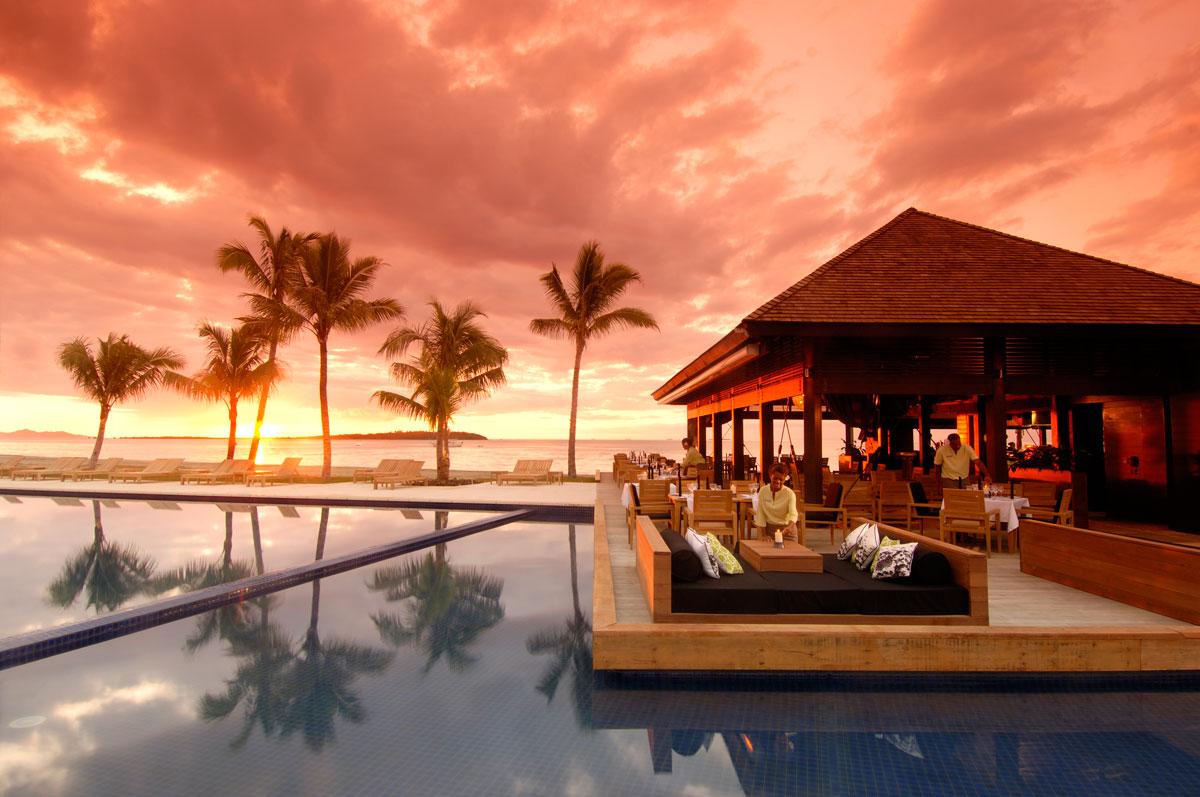 Foto del resort sul mare Fiji Beach