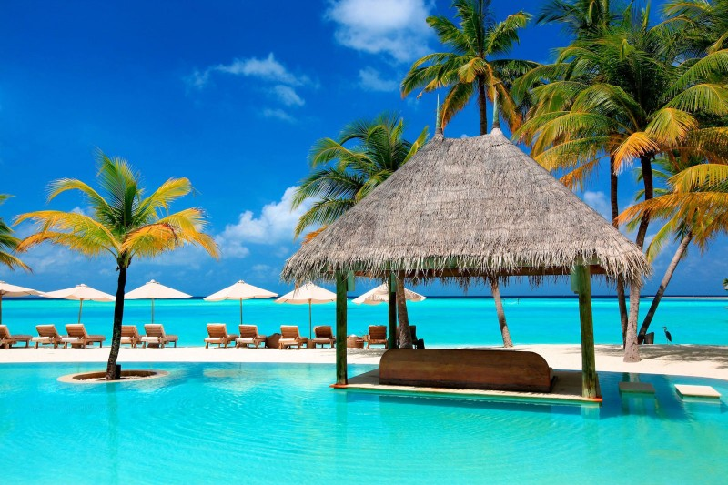 Foto del resort sul mare Gili Lankanfushi alle Maldive