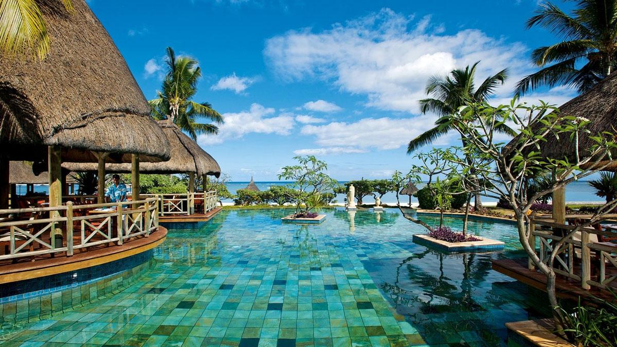Foto del resort sul mare La Pirogue alle Mauritius
