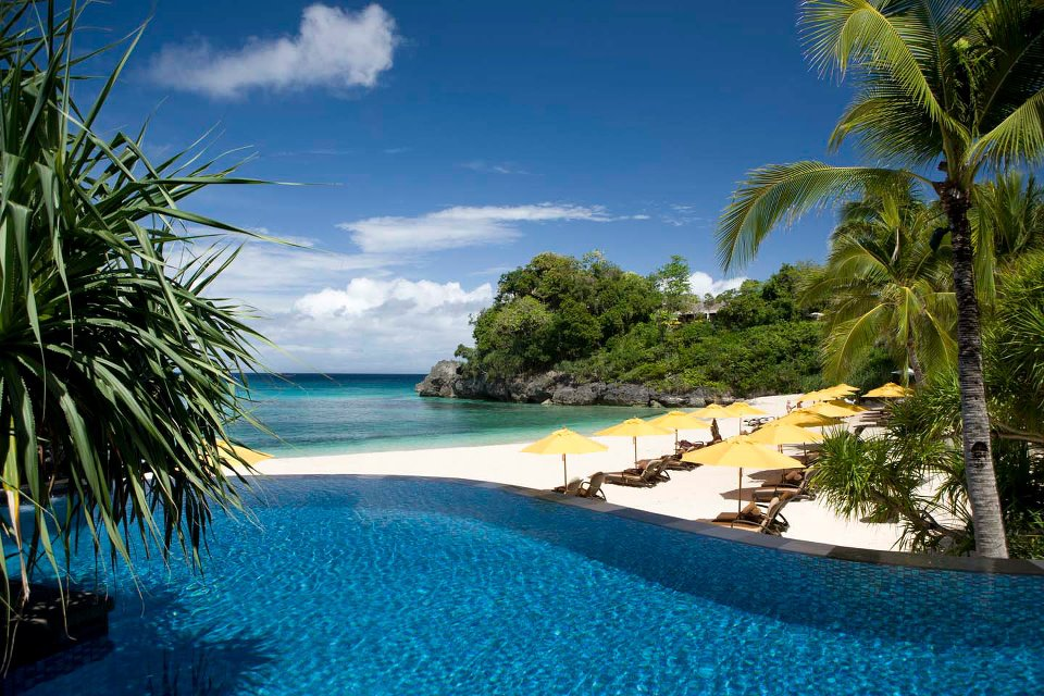 Foto del resort sul mare Shangri La Boracay alle Filippine