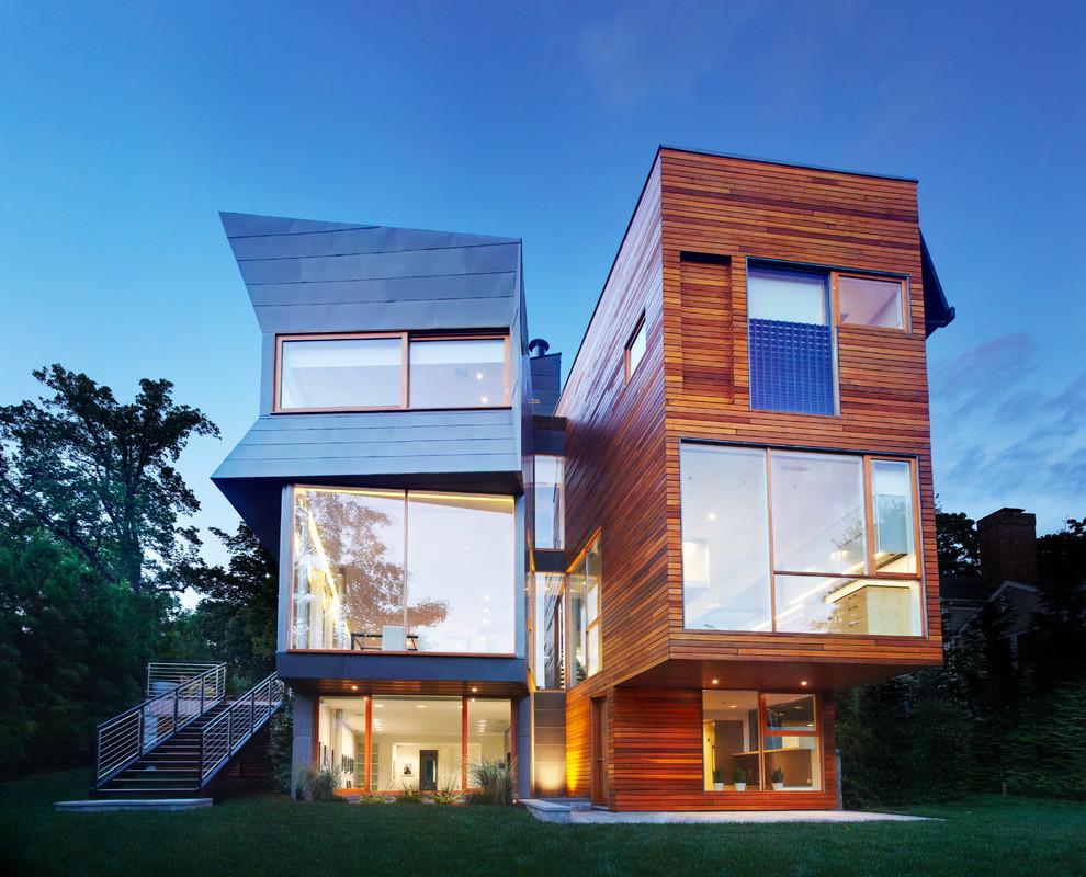 15 ville moderne di lusso dal design contemporaneo for Prospetti ville moderne