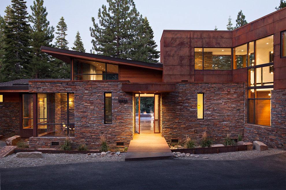 15 ville moderne di lusso dal design contemporaneo - Ville americane interni ...