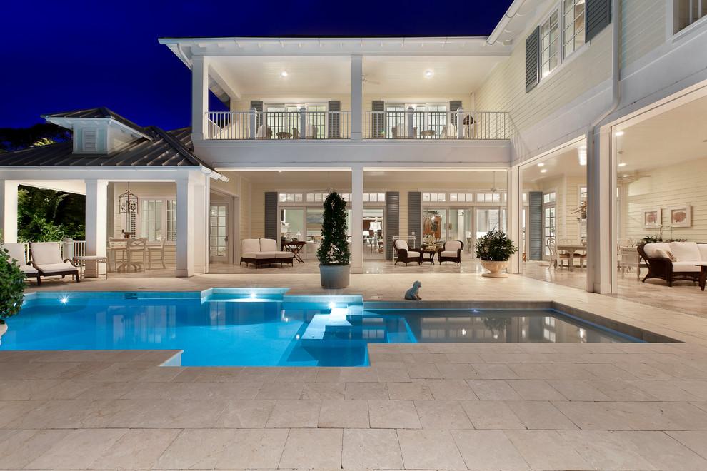 20 spettacolari ville da sogno ai tropici for Miami mansion floor plans