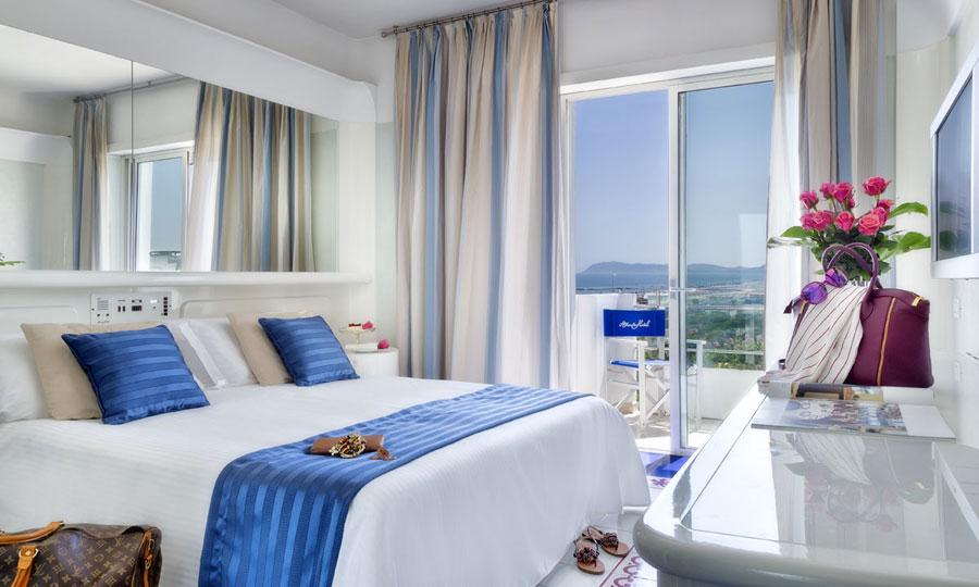 Camera dell'Atlantic Hotel Riccione