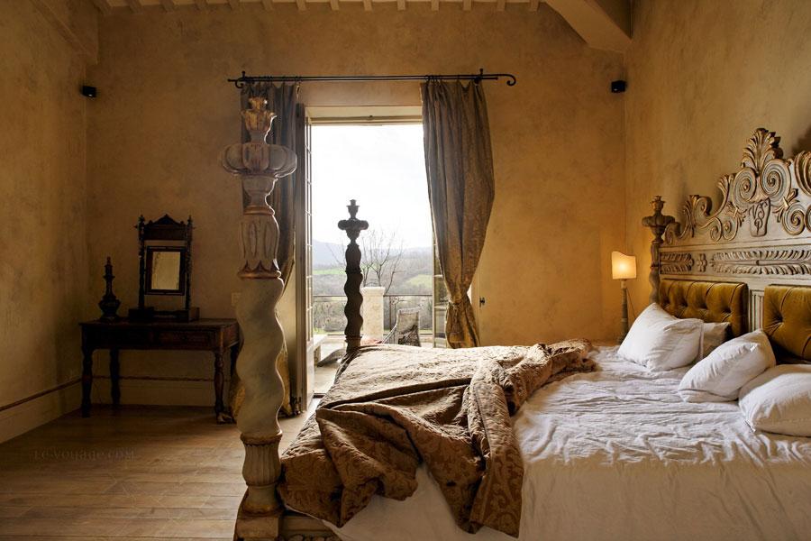 Camera dell'hotel di lusso Borgo Santo Pietro