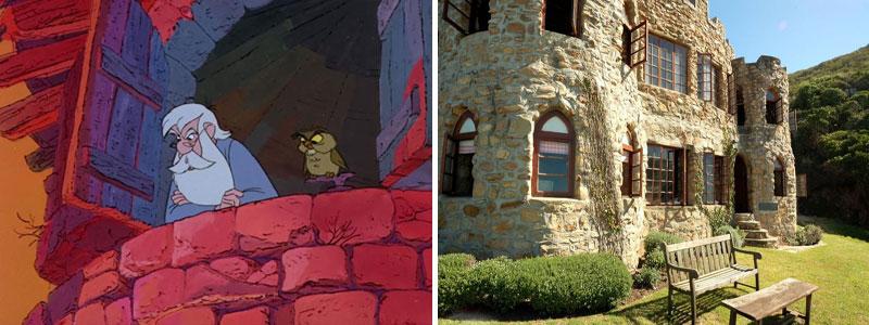 La casa di Merlino nella realtà