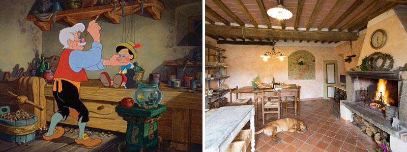 La casa di Pinocchio nella realtà