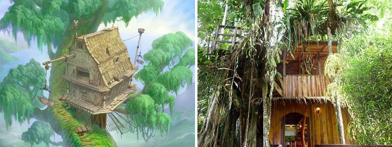 Casa di Tarzan nella realtà