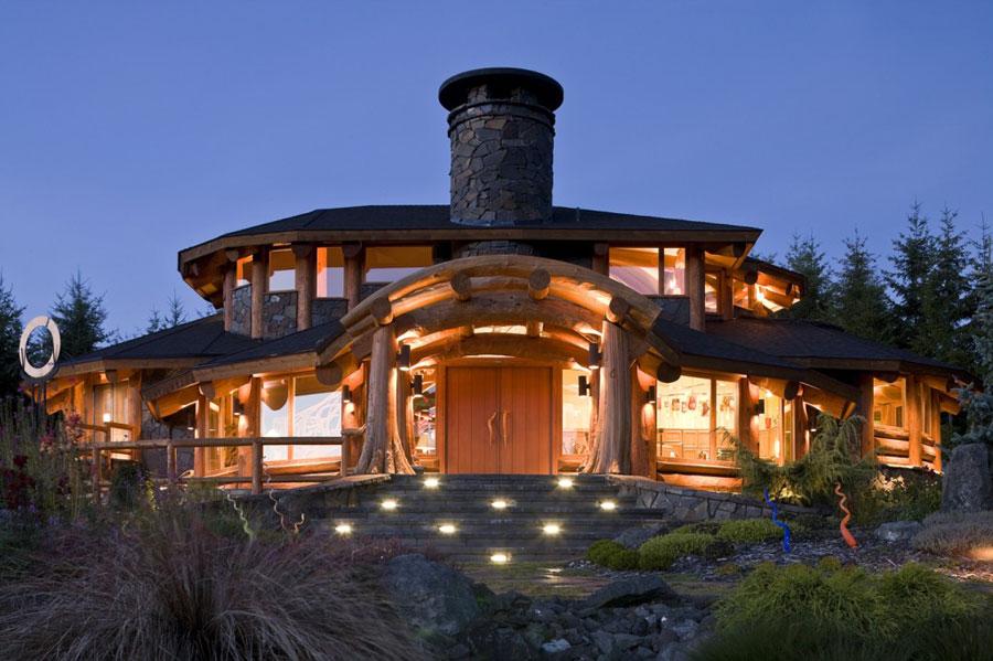 Casa di lusso realizzata in legno n.02