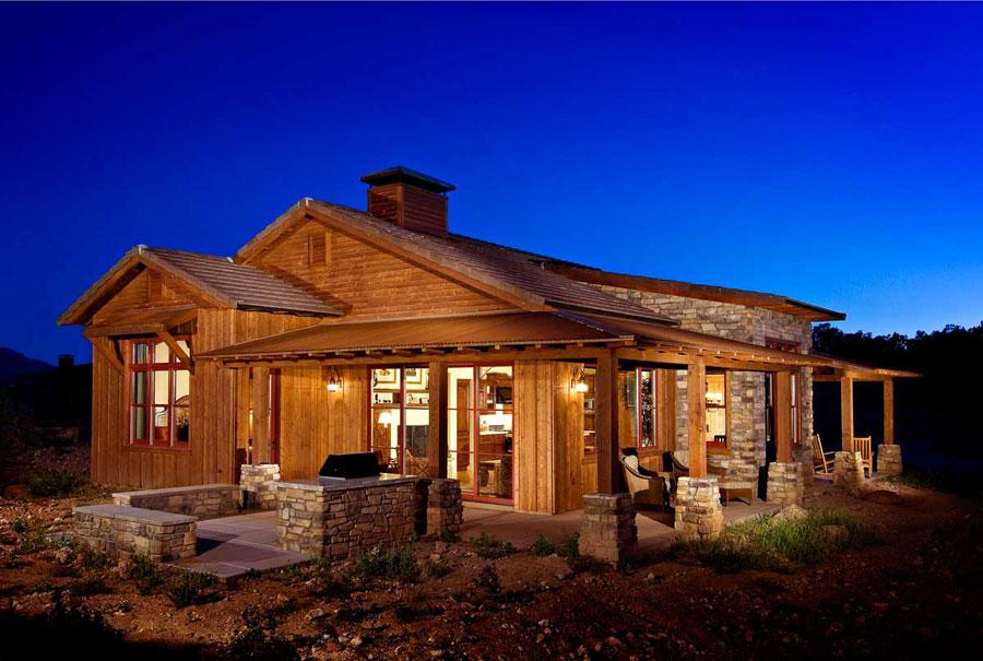 Casa di lusso realizzata in legno n.04