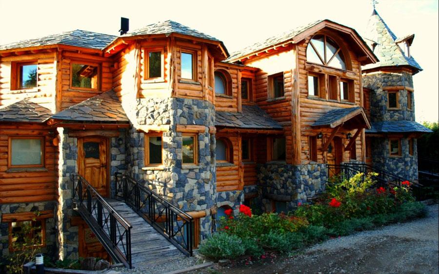 Casa di lusso realizzata in legno n.08