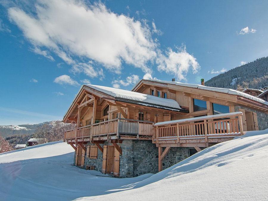 Casa di lusso realizzata in legno n.12