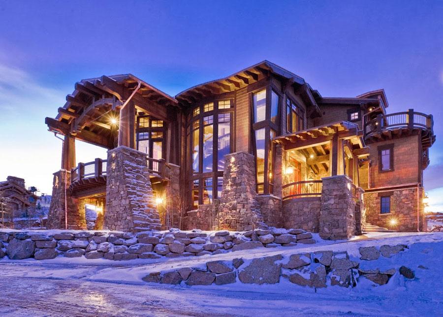Casa di lusso realizzata in legno n.15