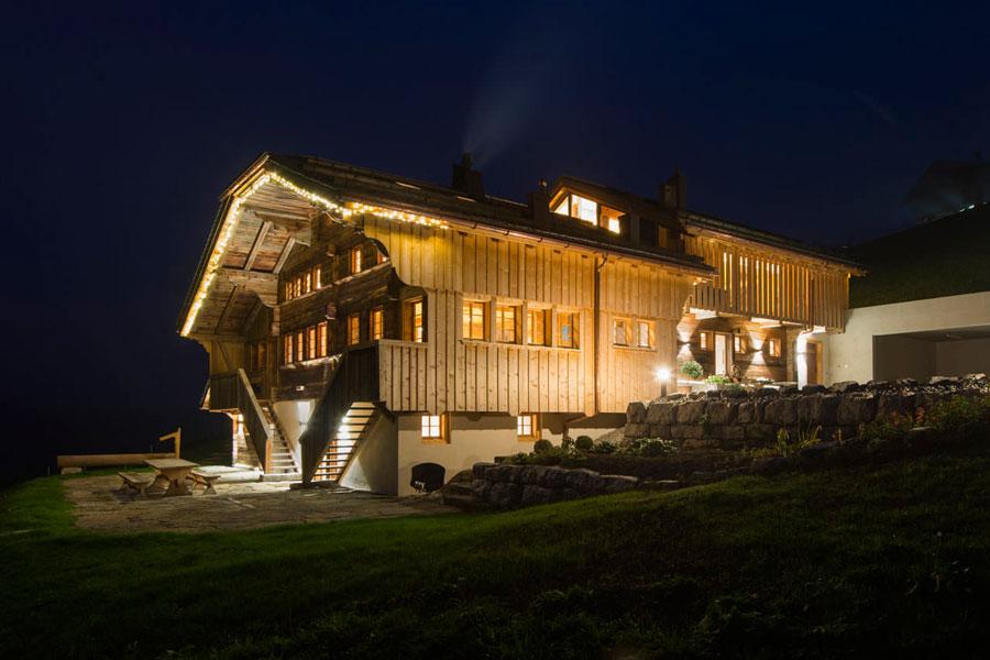 Casa di lusso realizzata in legno n.18