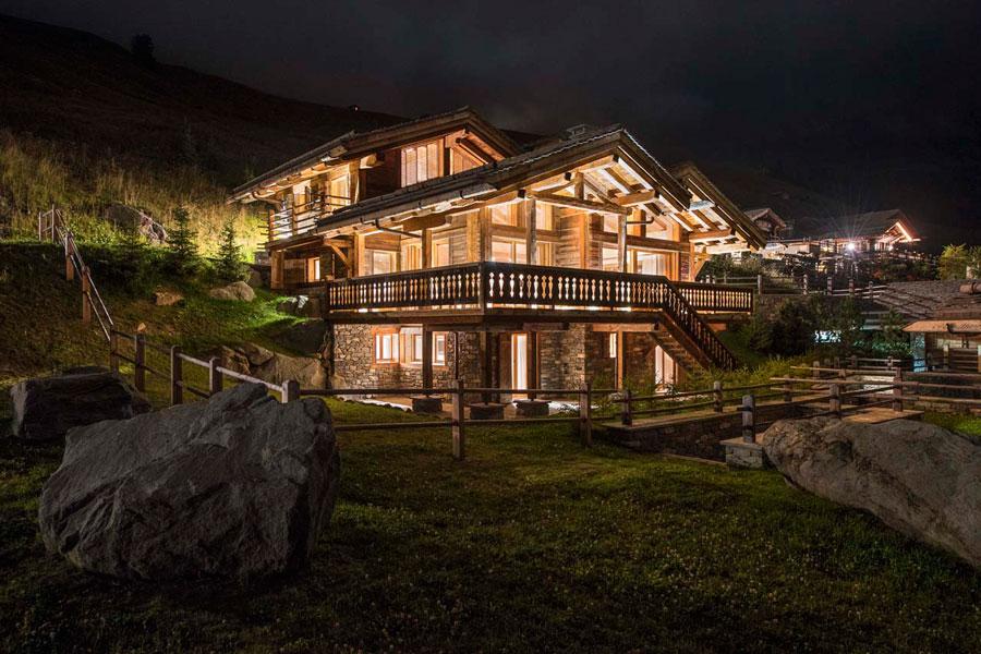 Casa di lusso realizzata in legno n.19