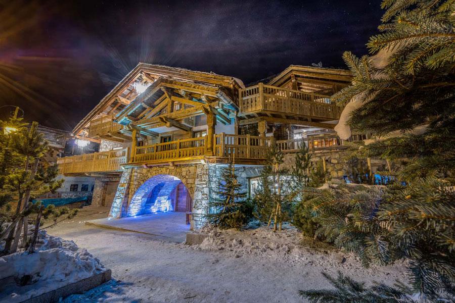 Casa di lusso realizzata in legno n.20
