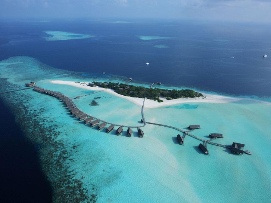 Foto del Cocoa Island Resort alle Maldive
