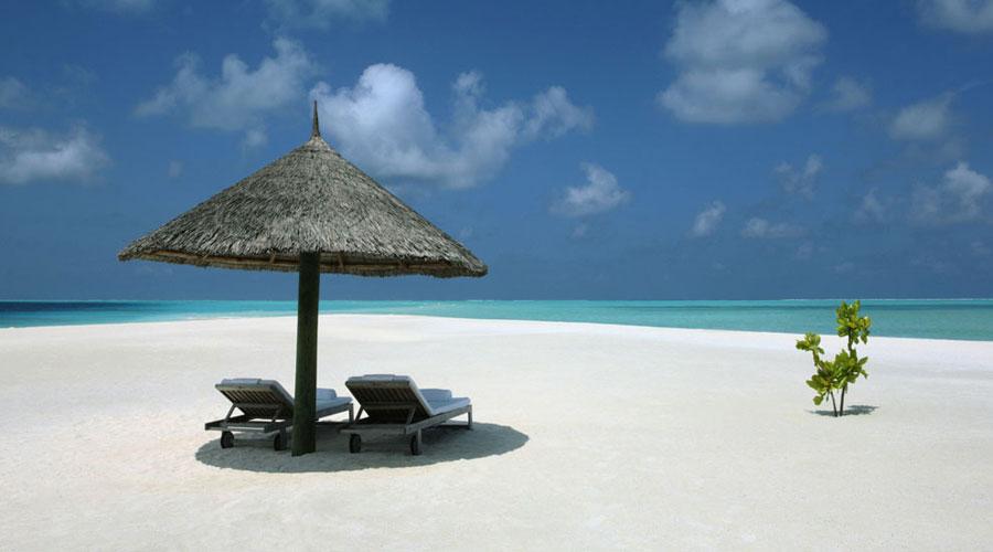 Esterno del Cocoa Island Resort alle Maldive