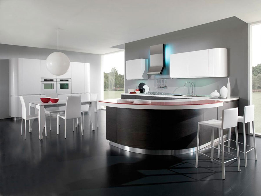 Interni cucine moderne ideas mattoni finti per pareti interne in