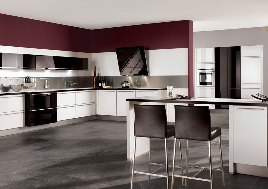 50 foto di cucine moderne con penisola - Cucina penisola ...