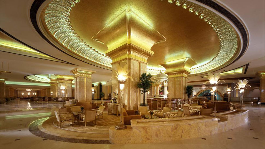 Ingresso dell'hotel Emirates Palace