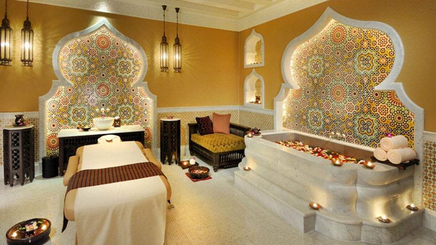 Centro benessere dell'hotel Emirates Palace