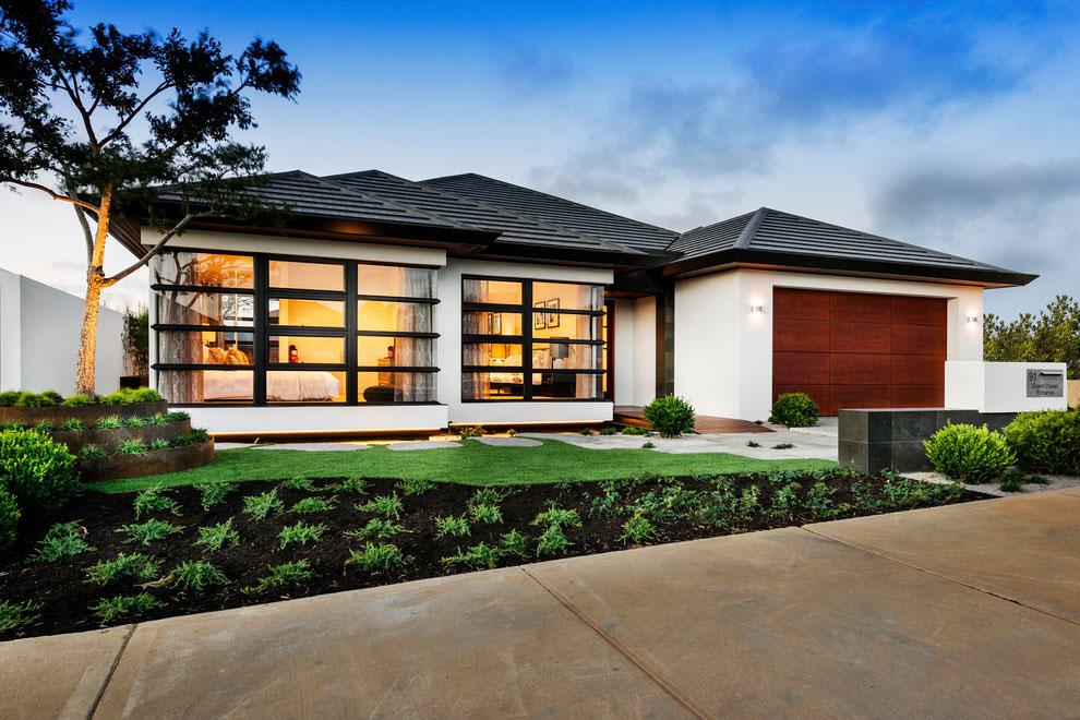 Facciate ed esterni di case moderne dal design asiatico for Case moderne design