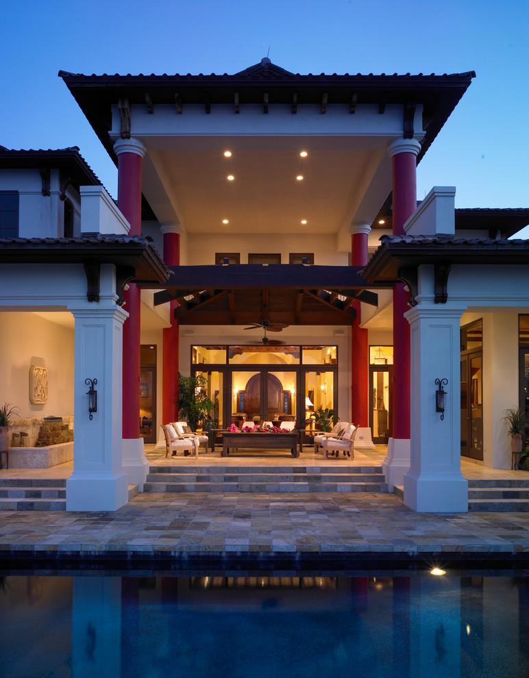 Esterno di casa in stile asiatico n.11