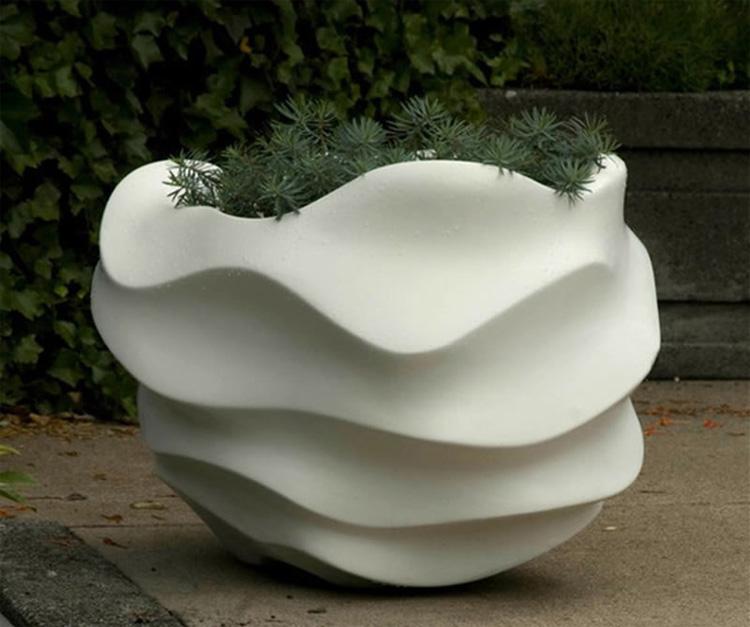 Foto della fioriera per esterni in stile moderno n.06
