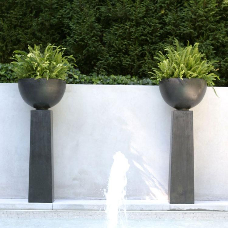 Foto della fioriera per esterni in stile moderno n.08