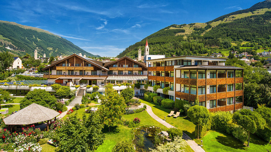 Esterno del Garberhof Beauty Wellness Resort