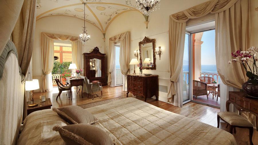 Camera del Grand Hotel Excelsior Vittoria
